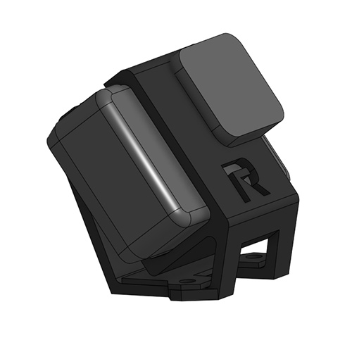 CAD design of GoPro Mount